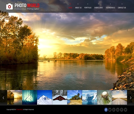 Photo World Responsive