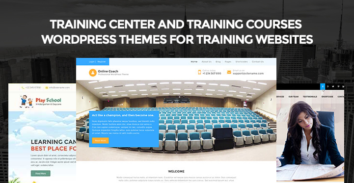 Training Center and Training courses WordPress themes for training ...