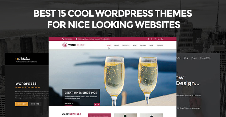 best 15 cool wordpress themes for nice looking websites