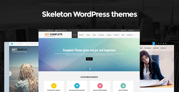 Skeleton WordPress themes which are starter themes for starting ...
