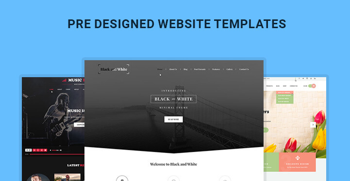 Pre Designed Website Templates Picked From WordPress Themes SKT Themes - Website templates wordpress