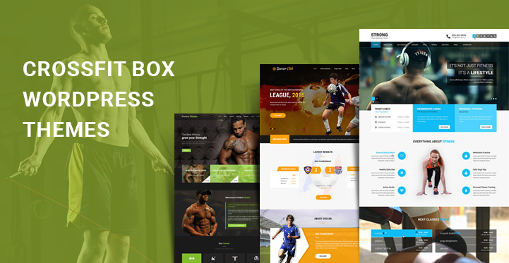crossfit box WordPress themes