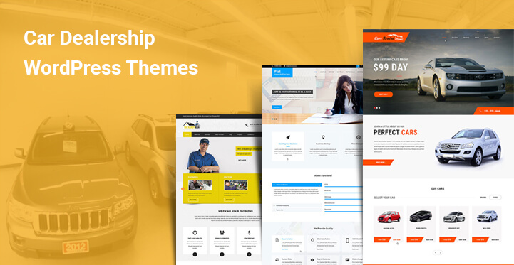 Car Dealership WordPress Themes for Car Owners Dealers Auto Workshops