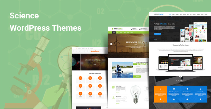 Science WordPress Themes for Scientists Labs News and Technology Portal