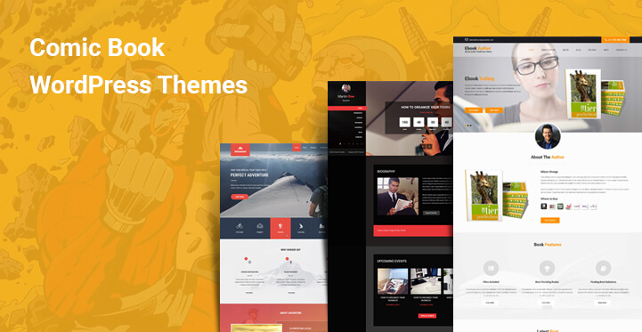 Comic Book WordPress Themes