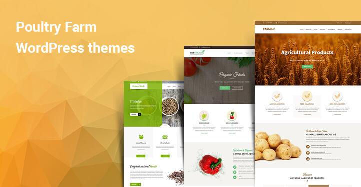 Poultry farm WordPress themes