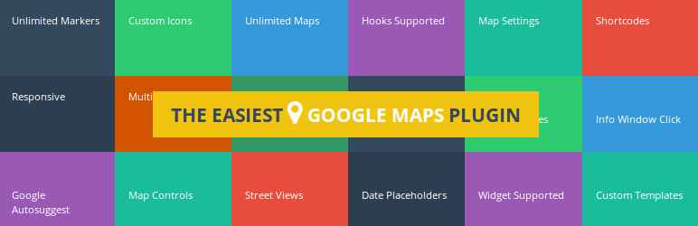 WP Google Map Plugin