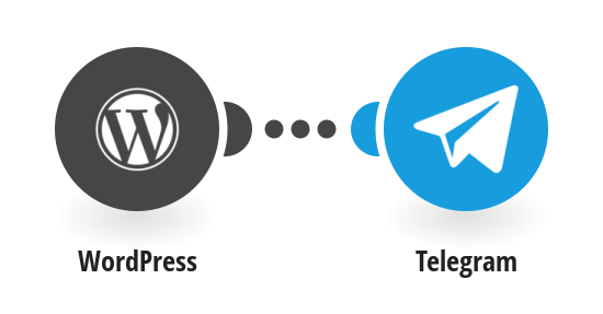 set up telegram with WordPress