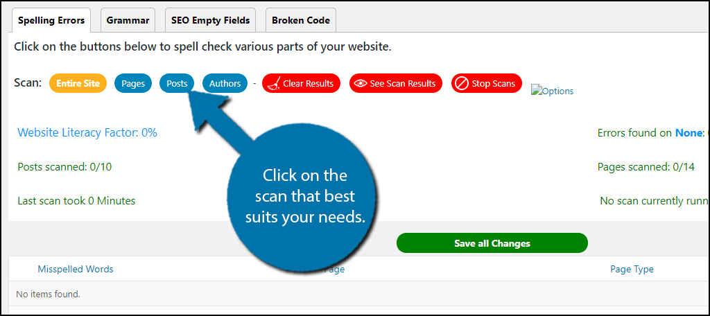 Working Of Spell Check Plugin WP