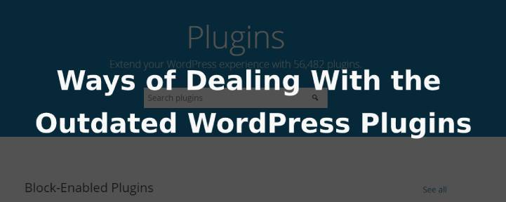 outdated WordPress plugins