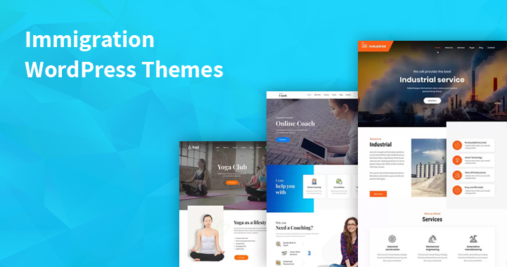 13 Visa Consulting WordPress Themes for Visa Immigration Consulting